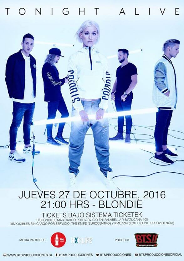 Tonight Alive Chile