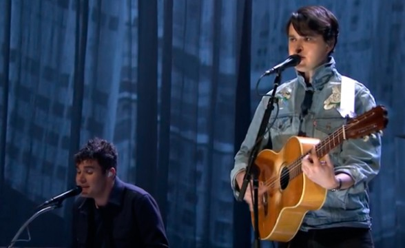 Vampire Weekend tocó en The Tonight Show