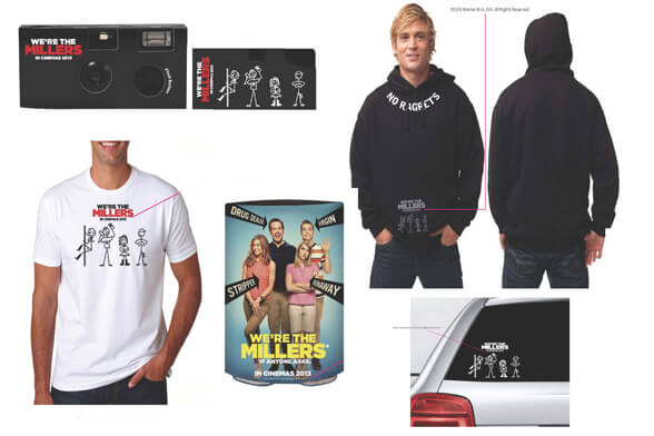 WE'RE THE MILLERS MERCH
