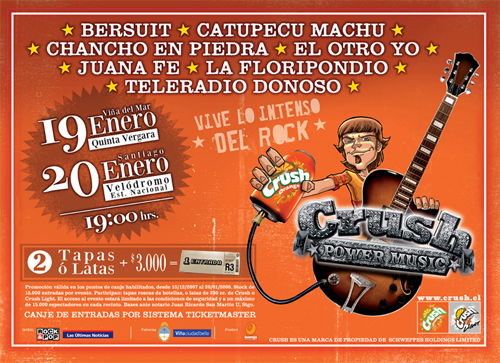 Crush Power Music 2008