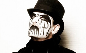 King Diamond con su propio fsil