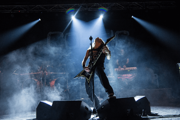 01 Children Of Bodom @ Teatro Cariola 2016