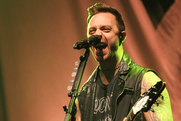 12 Bullet For My Valentine @ Teatro Cariola 2015