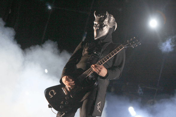 13 Ghost @ Lollapalooza Chile 2016