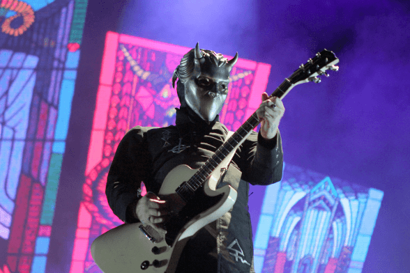 14 Ghost @ Lollapalooza Chile 2016