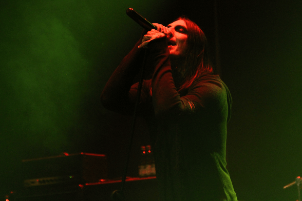 15 Motionless In White @ Teatro Cariola 2015