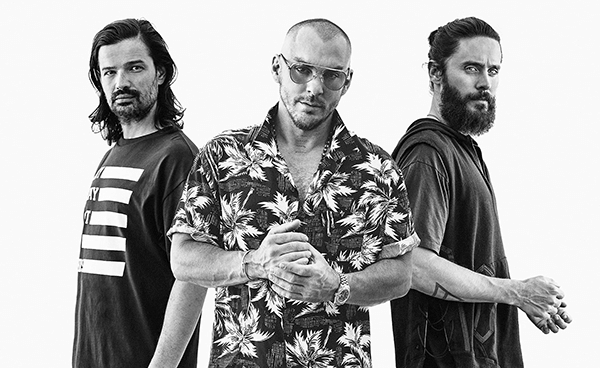 Thirty Seconds To Mars homenajea a David Bowie, Prince, George Michael, Chris Cornell y Chester Bennington con show en vivo