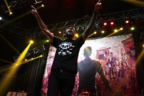 A DAY TO REMEMBER CHILE 2014 06