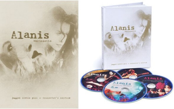 ALANIS MORRISETTE - JAGGED LITTLE PILL COLLECTOR'S EDITION