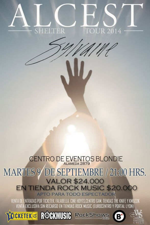 ALCEST SYLVAINE EN CHILE