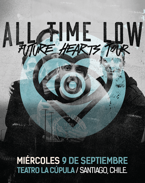 ALL TIME LOW NUEVO AFICHE