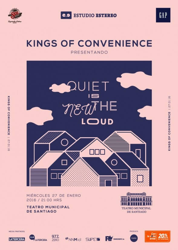 Afiche Kings Of Convenience
