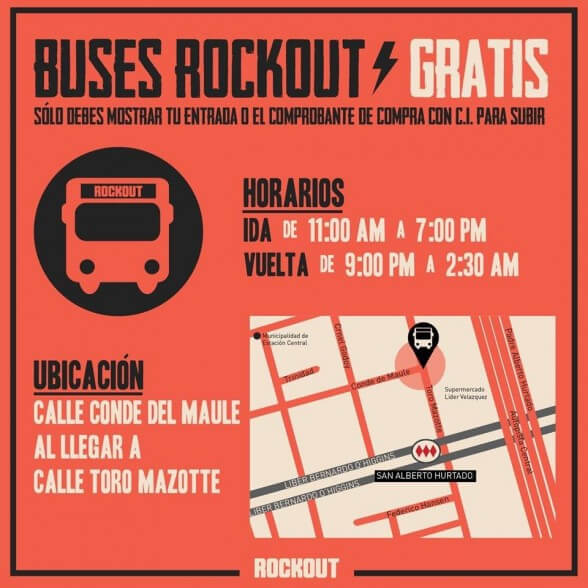 BUSES ROCKOUT
