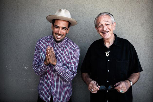 Ben Harper and Charlie Musselwhite 01