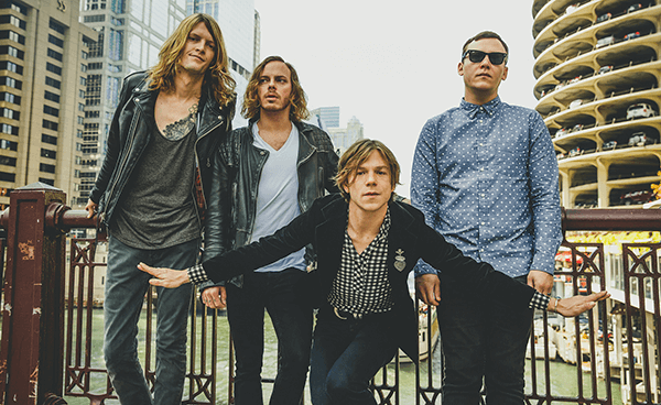"""Cage The Elephant tocó """"Mess Around"""" y """"Trouble"""" en show íntimo"""