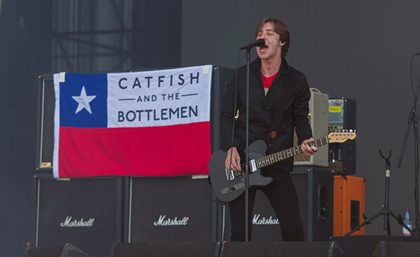 Galería fotográfica de Catfish And The Bottlemen @ Lollapalooza Chile (02/04/2017)