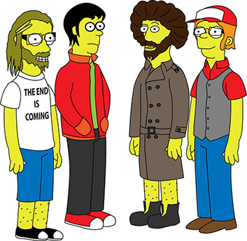 FALL OUT BOY THE SIMPSONS