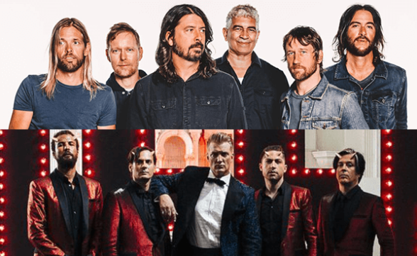 Foo Fighters y Queens Of The Stone Age confirman fechas juntos en Brasil y Argentina