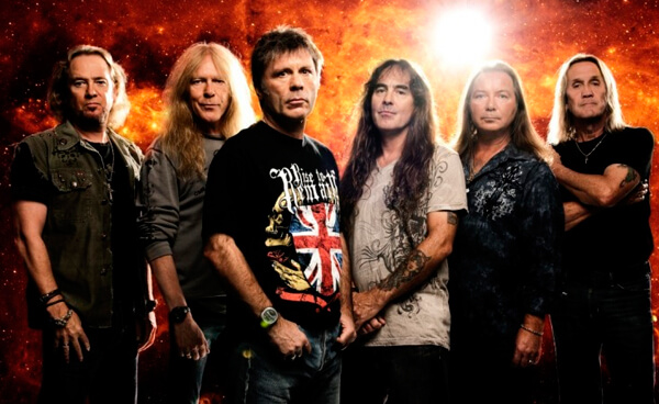 Detalles del regreso de Iron Maiden y Anthrax a Chile
