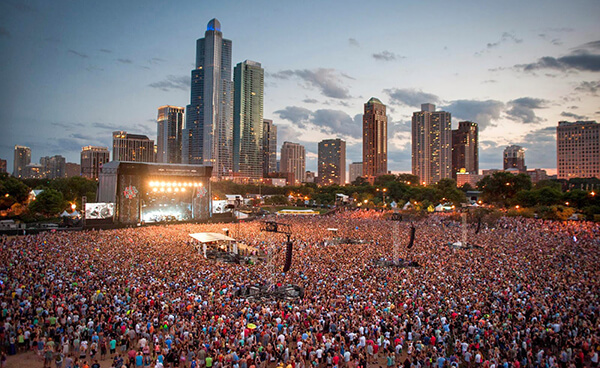 Streaming Lollapalooza Chicago 2014