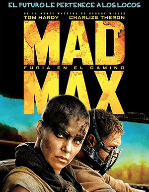 MAD MAX FURY ROAD AFICHE