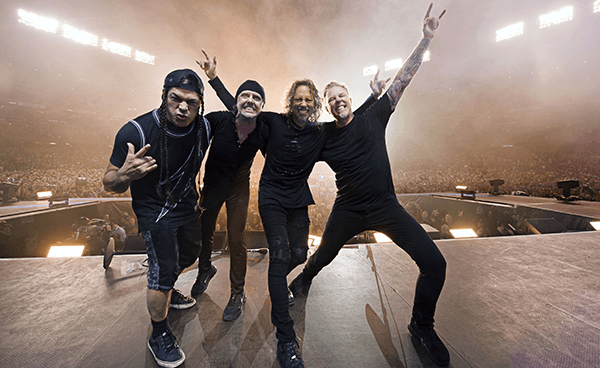 "Metallica tocó ""Atlas, Rise!"" y ""For Whom The Bell Tolls"" en Jimmy Kimmel Live!"