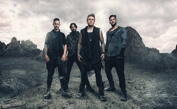 "Streaming del nuevo disco de Papa Roach: ""Crooked Teeth"""
