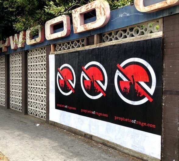 RATM LOS ANGELES WALLS