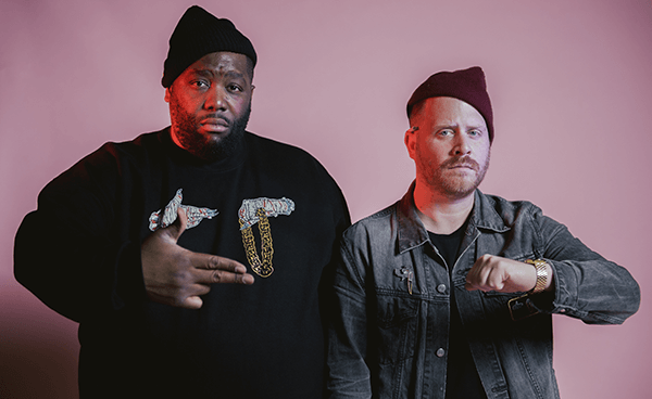 "Run The Jewels tocó ""Panther Like A Panther"" y ""Down"" en Jimmy Kimmel Live!"