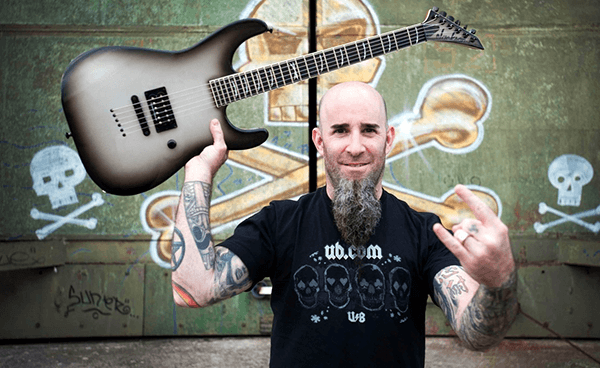 "Scott Ian de Anthrax se convierte en un White Walker de ""Game Of Thrones"""