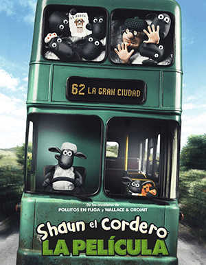 SHAUN THE SHEEP MOVIE AFICHE