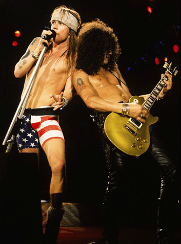 SLASH Y AXL ROSE