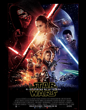 STAR WARS THE FORCE AWAKENS AFICHE