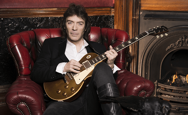 Steve Hackett regresa a Chile en 2018