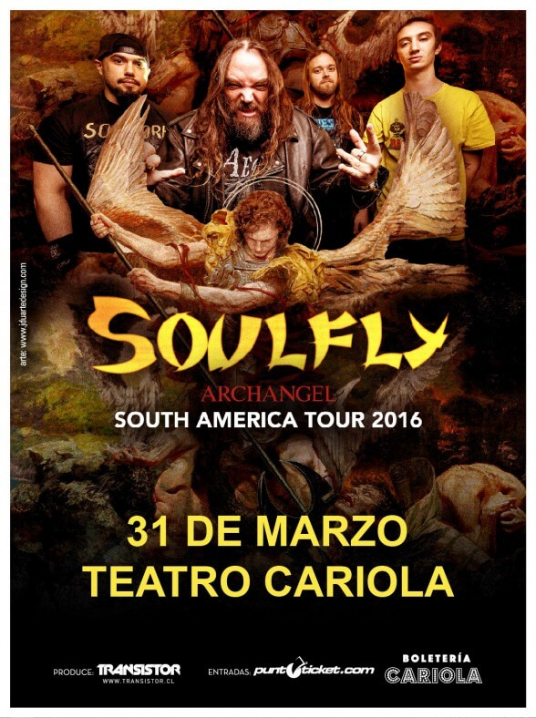 Soulfly Chile 2016