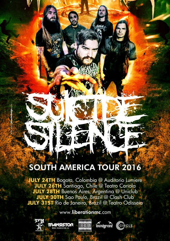 Suicide Silence Ch 2016