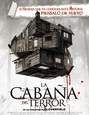 THE CABIN IN THE WOODS AFICHE
