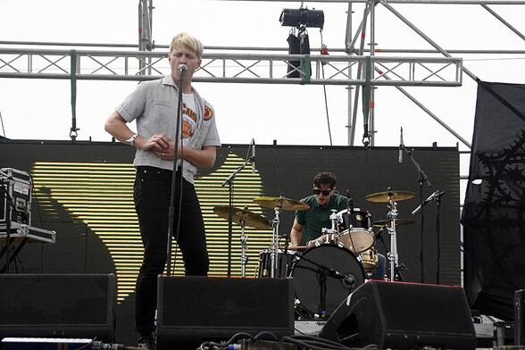 THE DRUMS PRIMAVERA FAUNA 2013 01