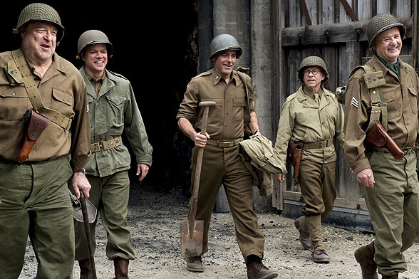 THE MONUMENTS MEN 01