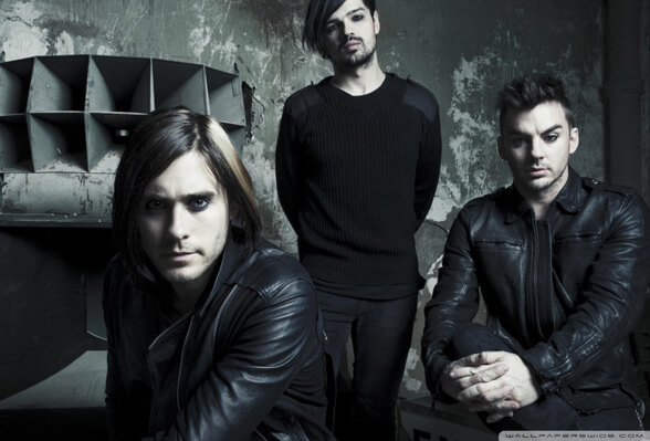 THIRTY SECONDS TO MARS 01